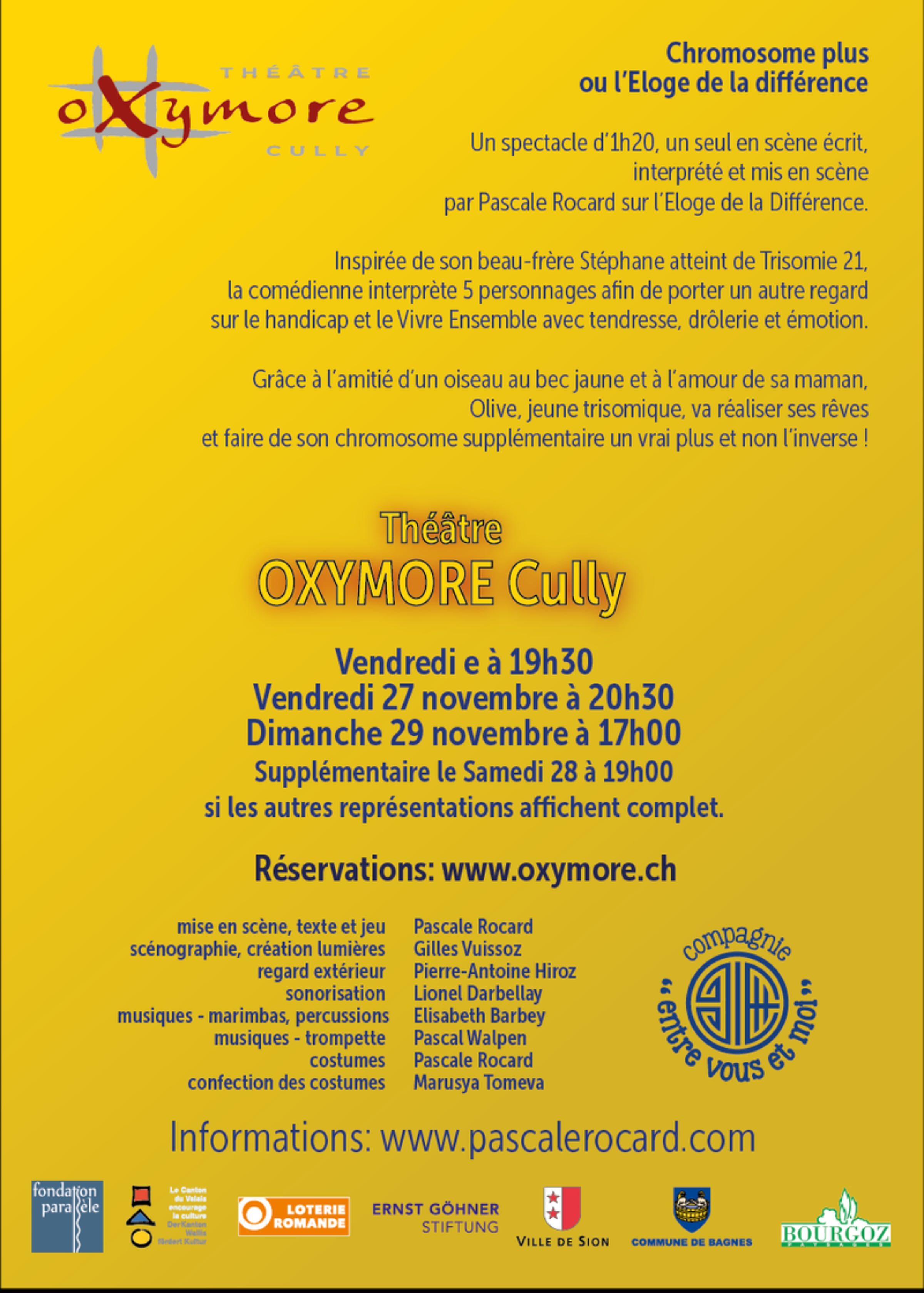 chromo oxymore flyer web